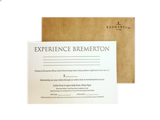 Bremerton Gift Certificate Image