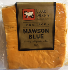 Product - Cheese - Udder Delights Mawson Blue